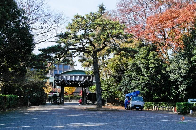 Puertas del Palacio Imperial de Kioto.
