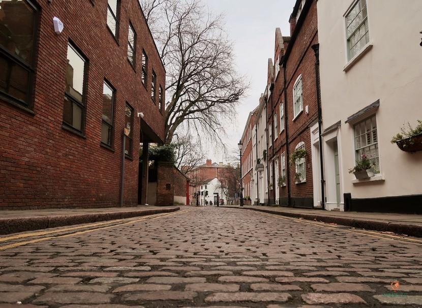 Qué hacer en Nottingham, pasear por sus calles.