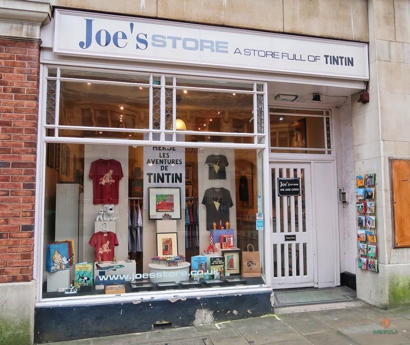 Joe's Store, una de las tiendas que ver en Nottingham.