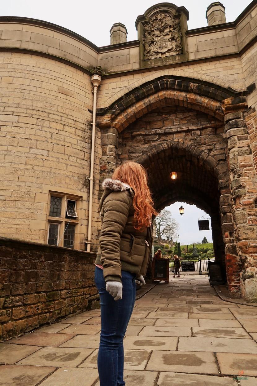 El Castillo de Nottingham.