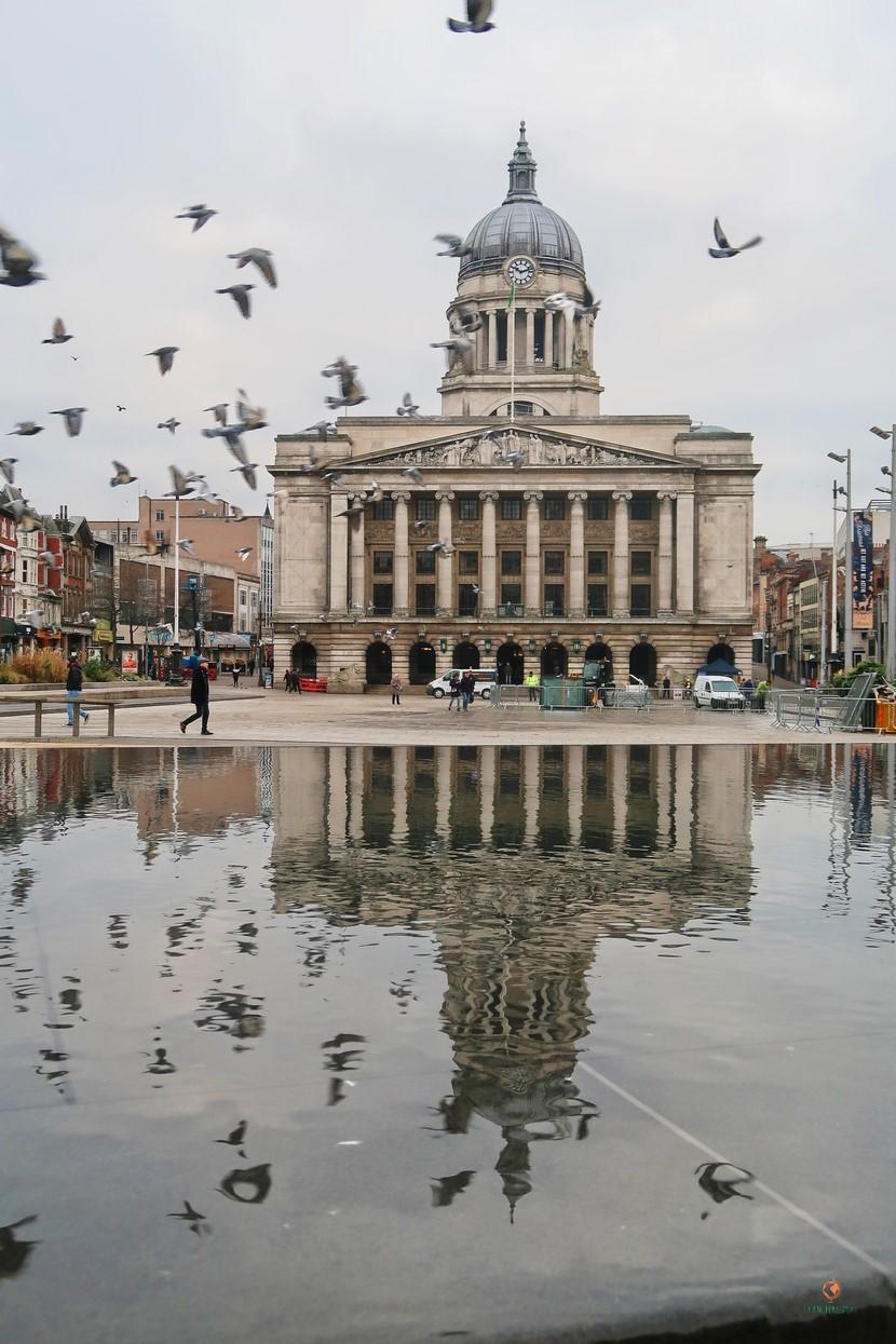 Ayuntamiento de Nottingham.
