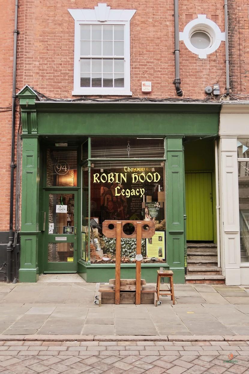 Robin Hood Legacy, tiendas que ver en Notthingam.