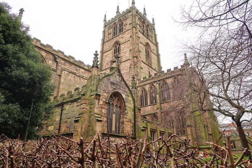 St. Mary Church en Nottingham.