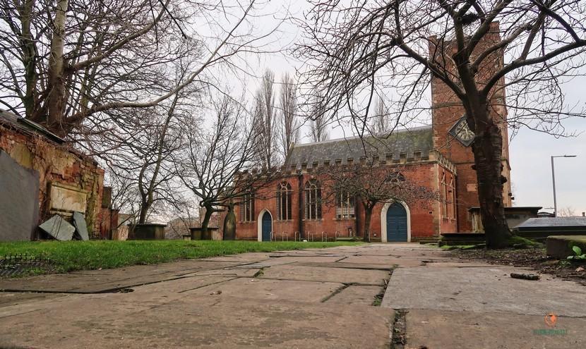 St. Nicholas Church, que ver en Nottingham.