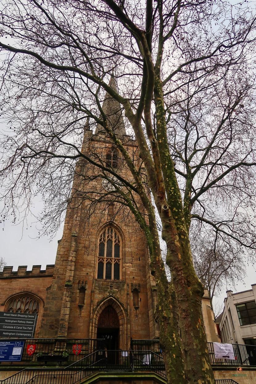 St. Peters Church en Nottingham.