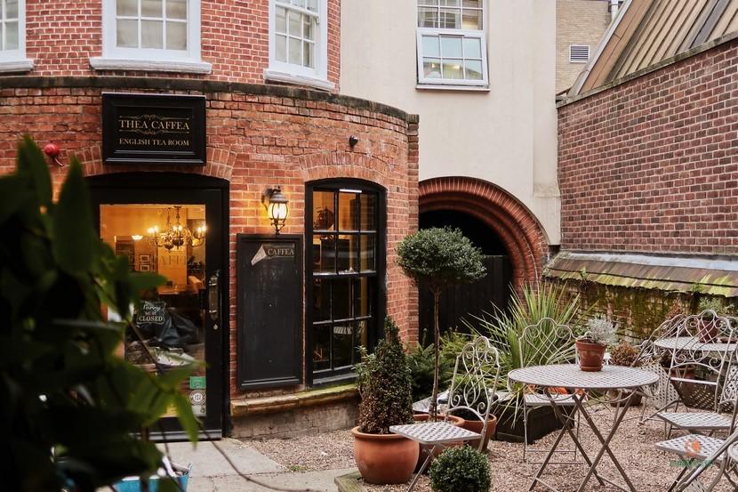 Thea Caffea, té y café en Nottingham.