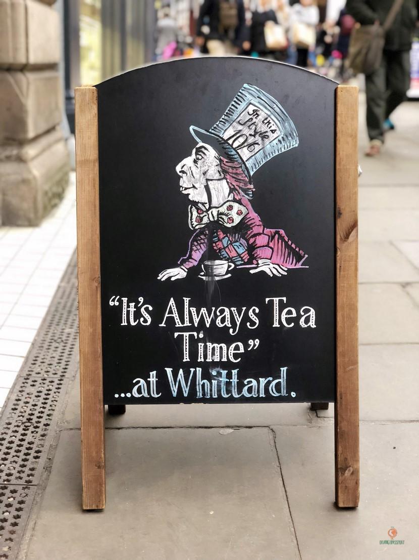 Whittard of Chelsea y Alicia en el País de las Maravillas, Nottingham.