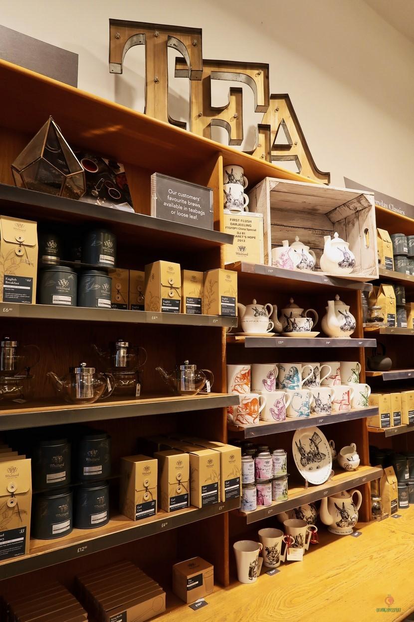 Whittard of Chelsea casa del té.